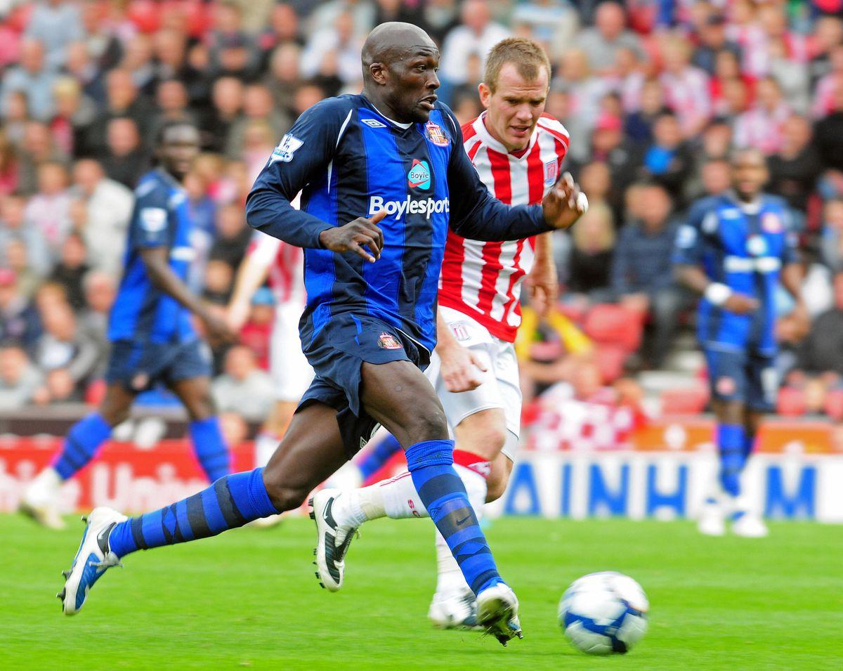 Sunderland's English defender Nyron Nosw