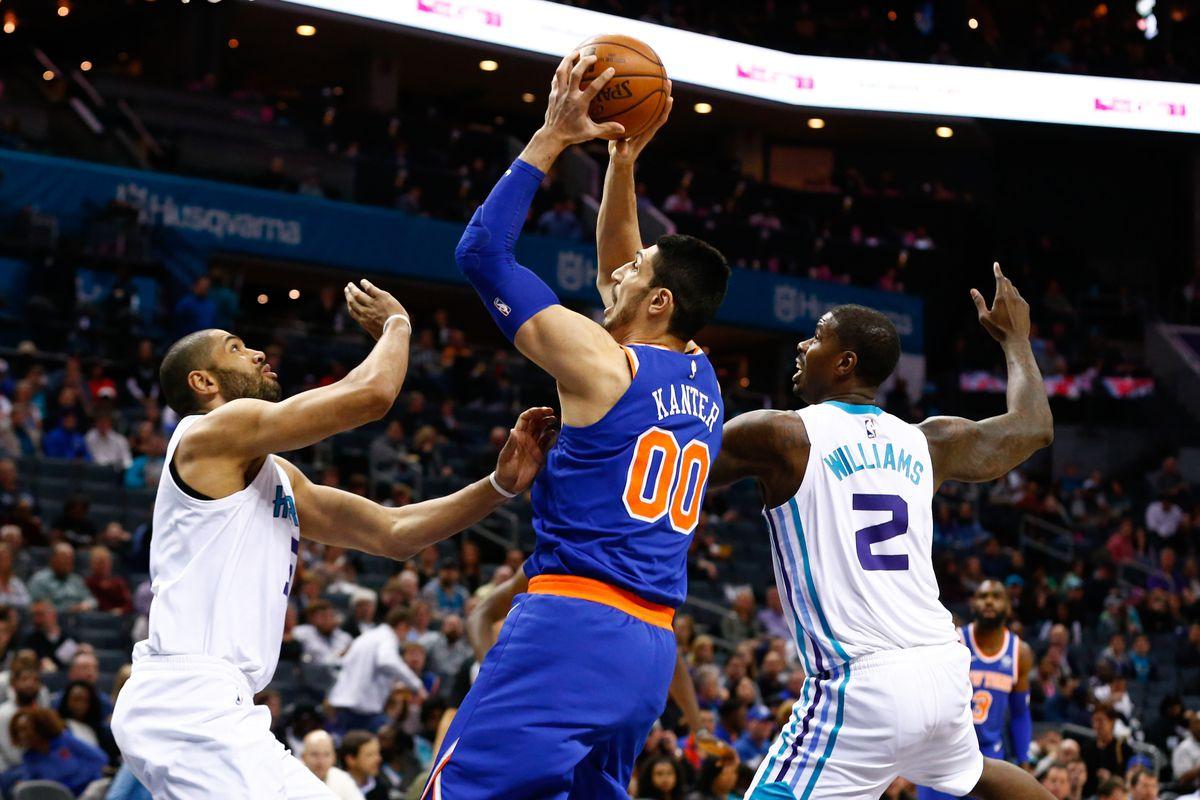 NBA: New York Knicks at Charlotte Hornets