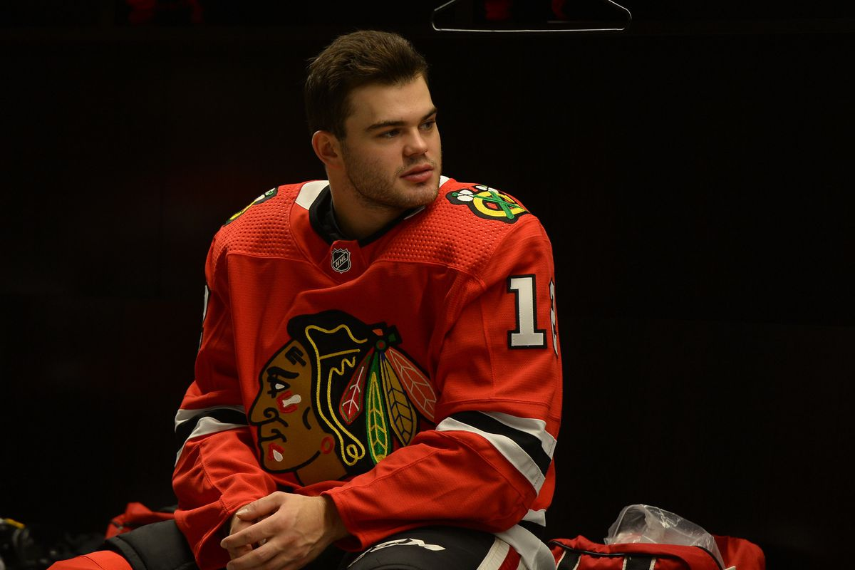 Alex DeBrincat, even as rising NHL star, remains content with off-ice anonymity
