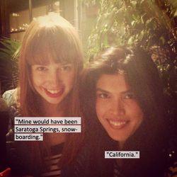 —Desiree MacDonald, Creative Team Muse Magazine (left) and Bettina Bati, Features Editor Muse Magazine (right)