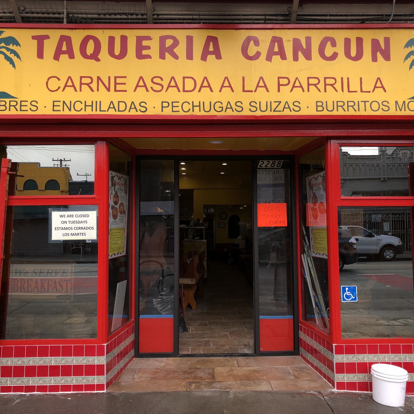 Taqueria Cancun Opens Today After Closing For Six Months Eater Sf