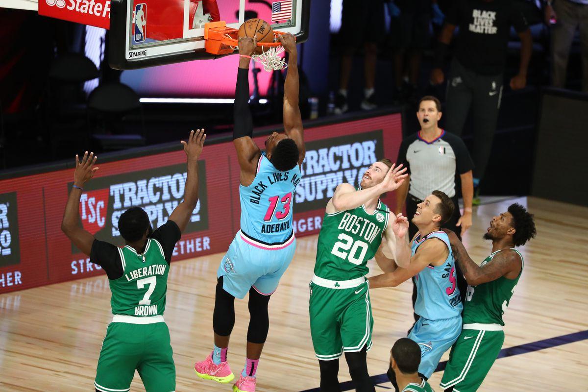 Heat Rock Celtics Win 112 106 Hot Hot Hoops