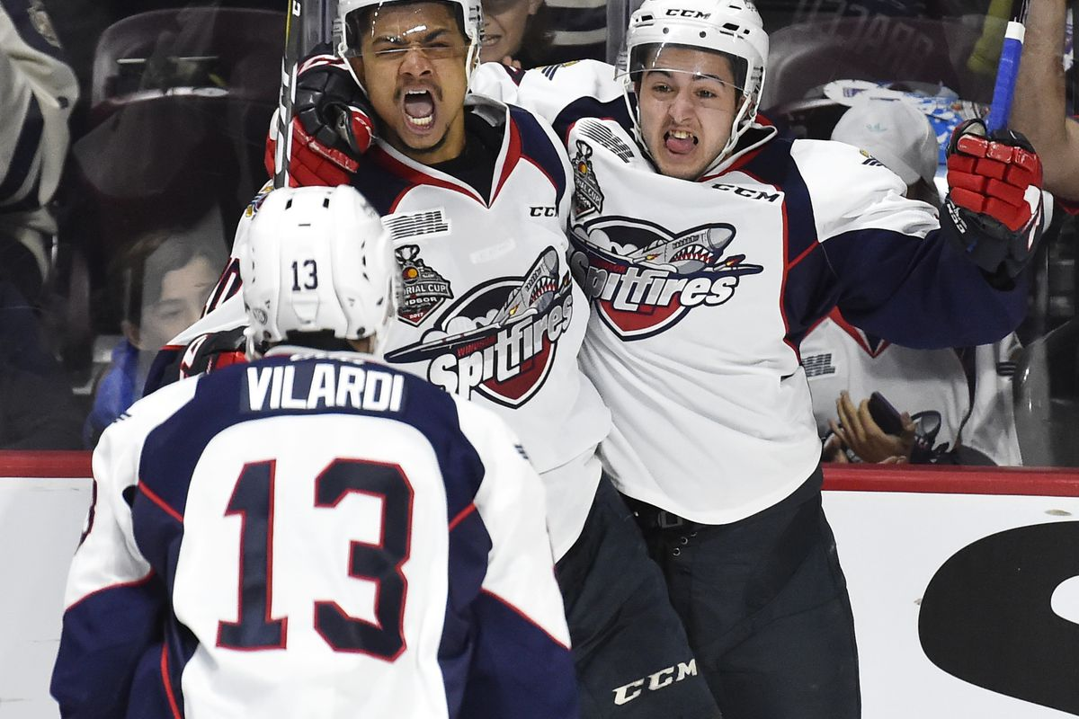 Michael DiPietro leads Spitfires past Otters to capture third Memorial Cup