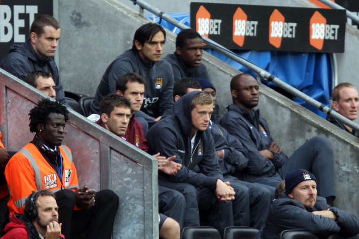 A couple of these men will probably see time against West Brom on Wednesday.