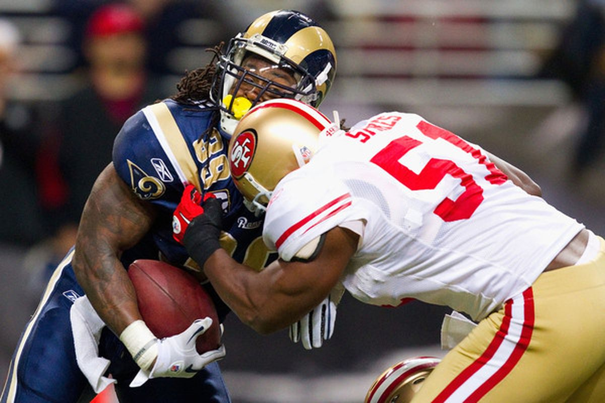 St. Louis Rams RB Steven Jackson has had to fight for every inch of each rushing yard this season, and he's going to the Pro Bowl.