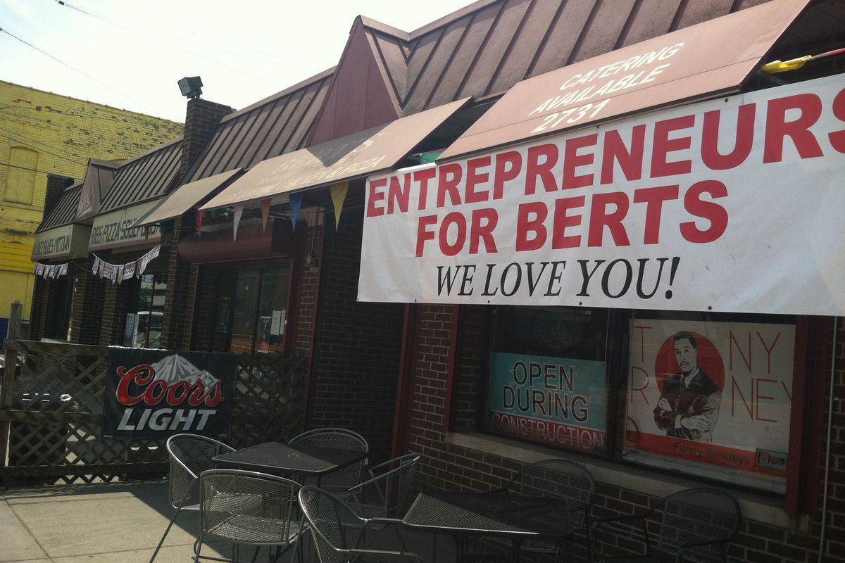 Bert's Warehouse.