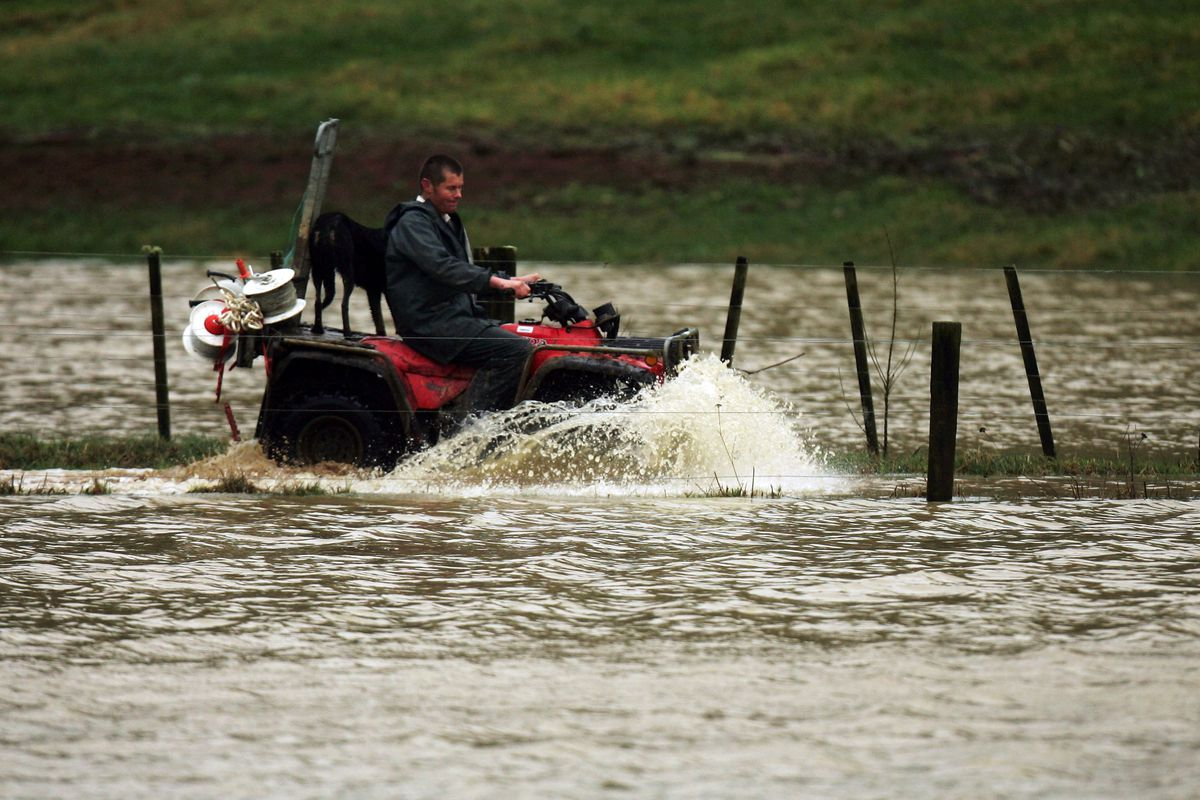 North Island Hit By Heavy Rain And Flooding