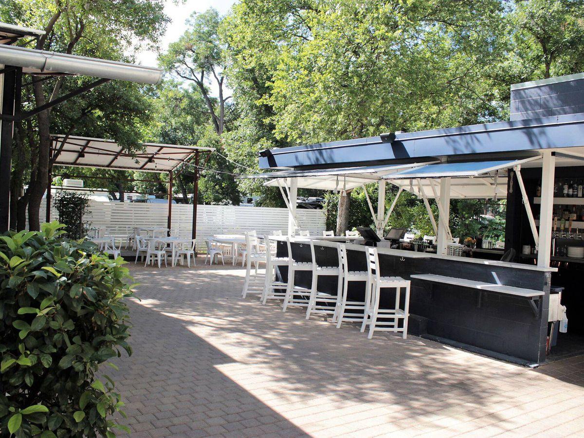 The patio at Juliet Italian Kitchen