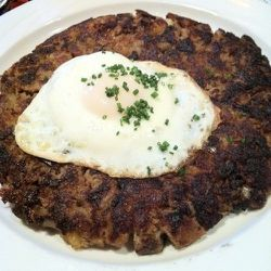 """Keens prime rib hash -- order this in the pub as a meal or the dining room as a side. (<a href=""""http://www.foodspotting.com/reviews/944565"""" rel=""""nofollow"""">Foodspotting</a>)"""