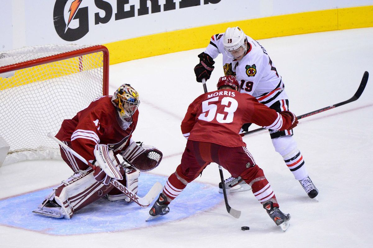 nhl playoffs 2012, blackhawks vs. coyotes game 6: game time, tv