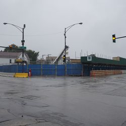 The former McDonald's property, at Clark and Addison