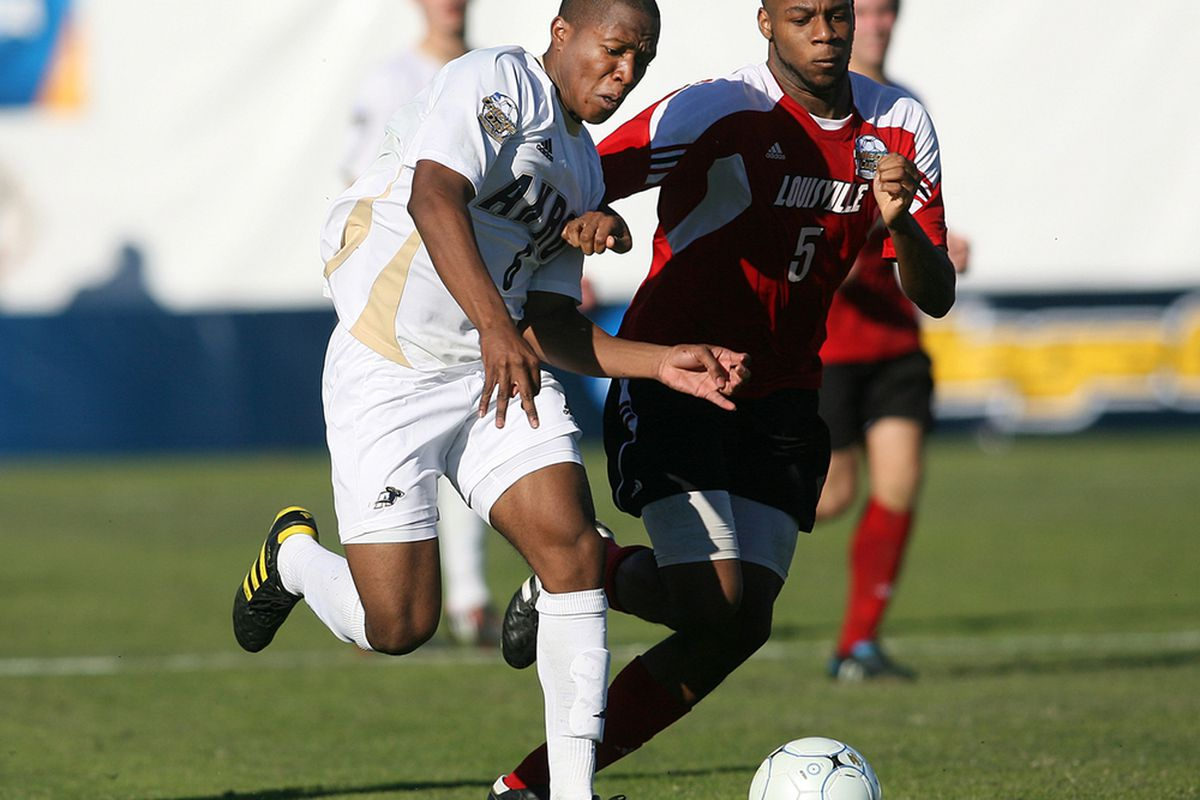 Will the Vancouver Whitecaps make Darlington Nagbe the first selection in the MLS SuperDraft? There's no way to know for sure, but 86 Forever's Benjamin Massey should be able to give us an idea. (Photo by Tony Quinn)