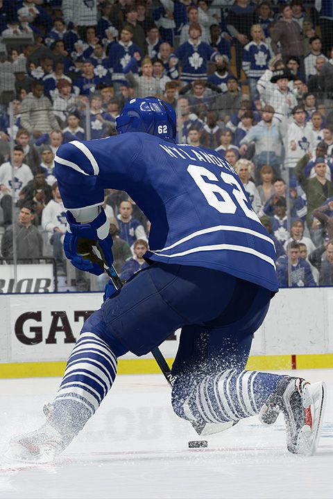 The Toronto Maple Leafs' William Nylander in NHL 17