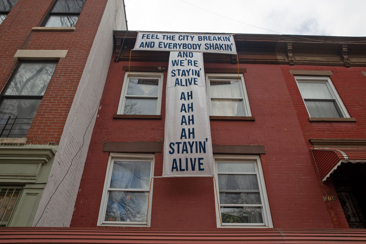 From the days of disco to the coronavirus these Bed-Stuy residents know Brooklyn always stays strong.