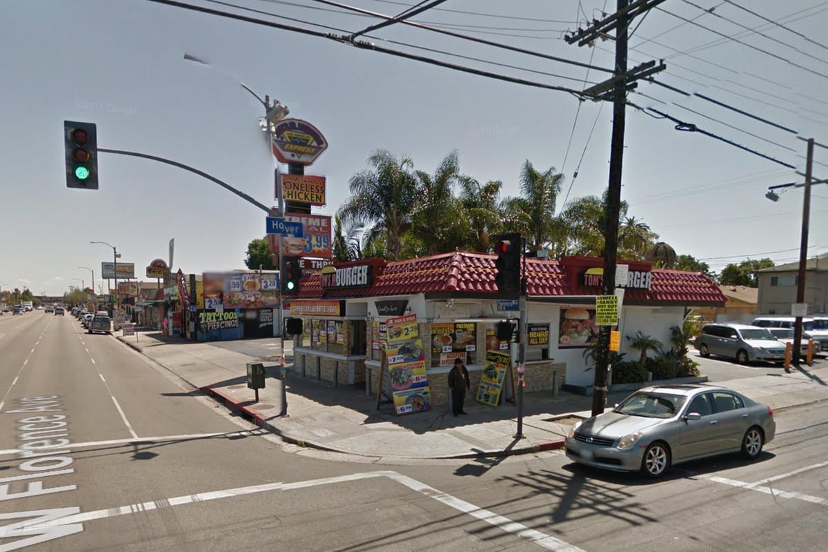 Tom's Jr Burger, South LA