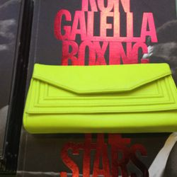 <b>Barneys New York</b> neon clutch, $159 from $275