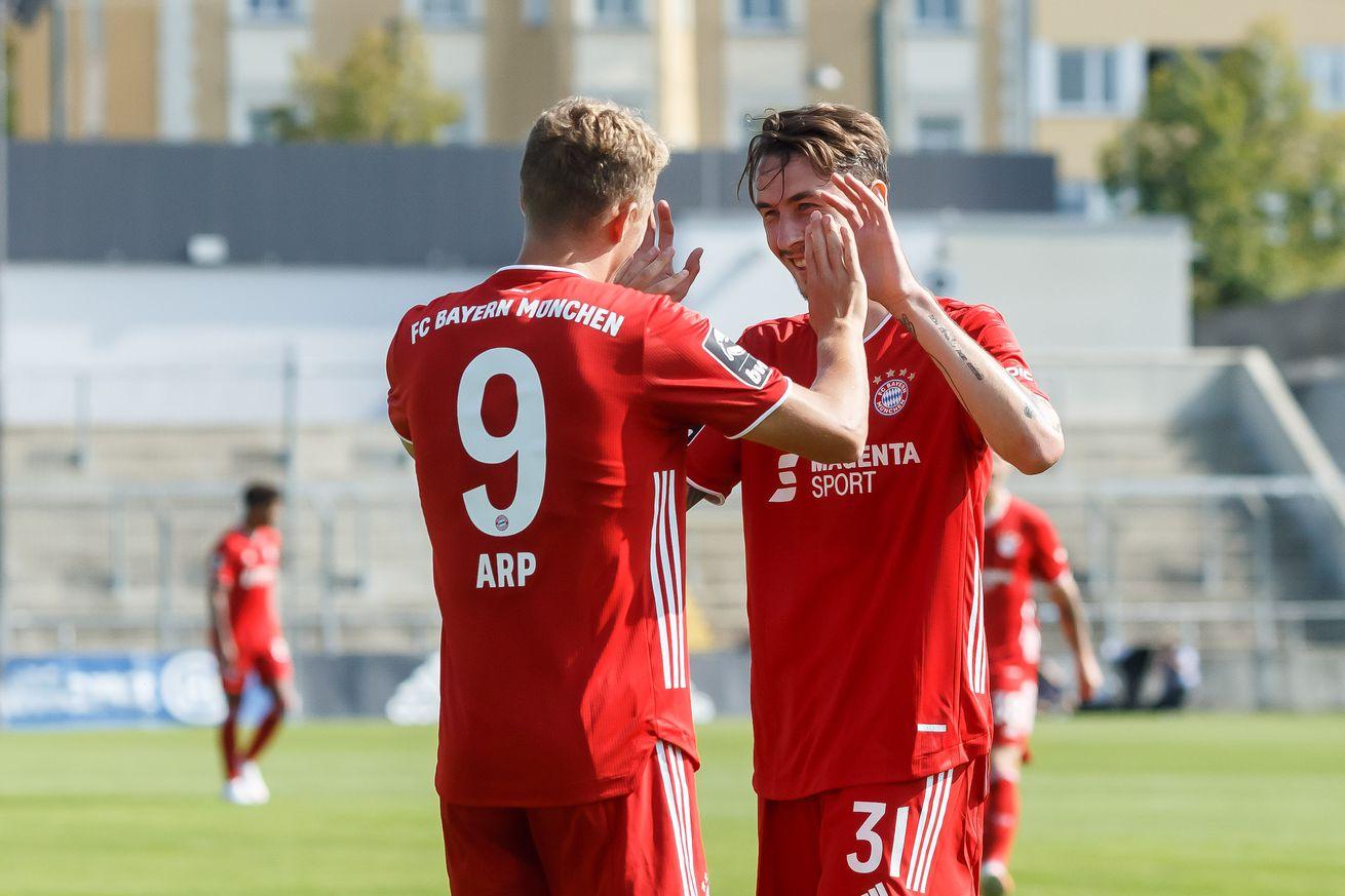 Bayern Munich II draw first Bavarian Derby of season against Türkgücü Munich