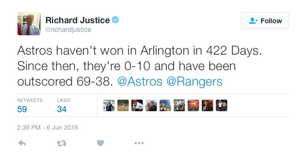 Rangers Tweet 1