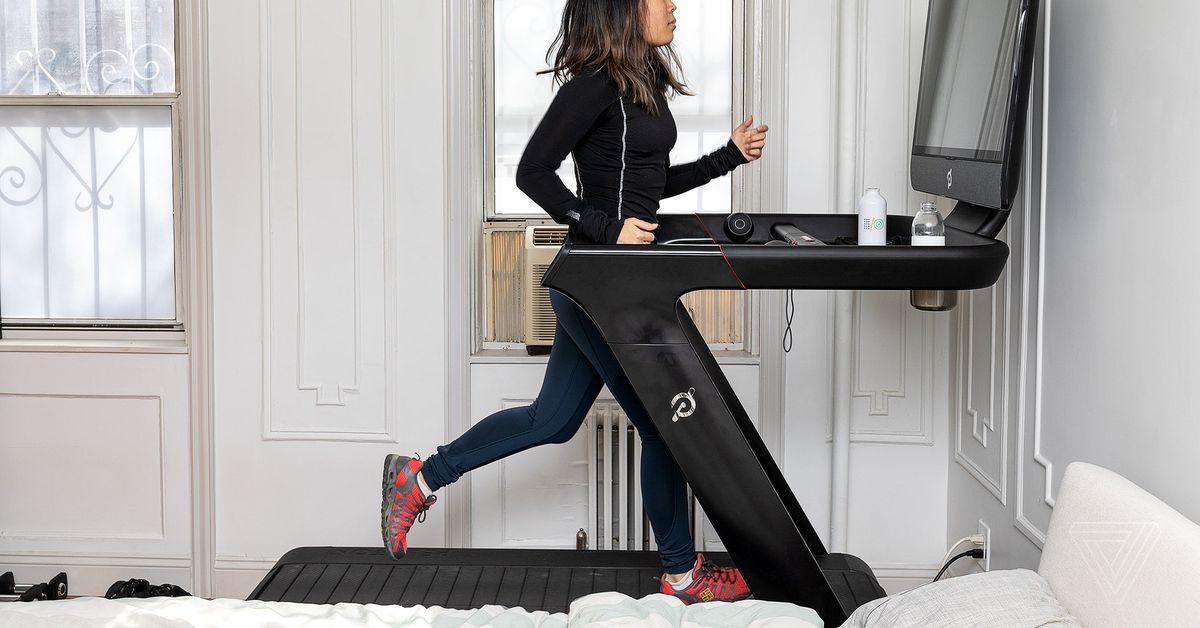 peloton tread review  5k training on a  4k treadmill