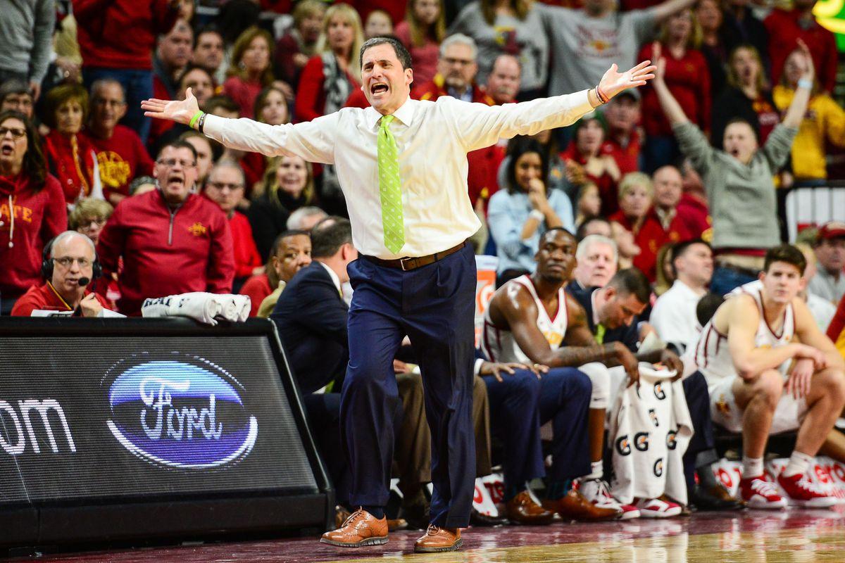 NCAA Basketball: Texas Christian at Iowa State