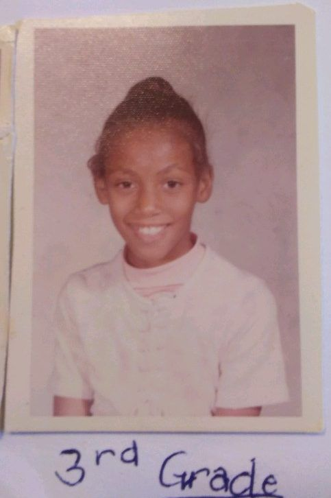 Jacqueline Hill-Ferby's third-grade school picture, ca. 1973. In 1973-74, she was bused from her neighborhood school in North Memphis to Raleigh-Bartlett Meadows Elementary, a school about 45 minutes away, as part of a court-ordered integration plan.