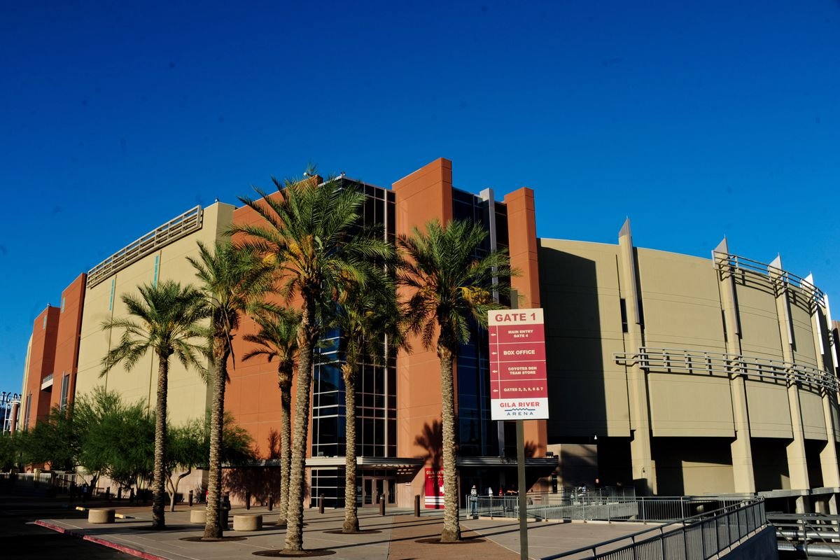 Gila River Arena, Home of the Coyotes