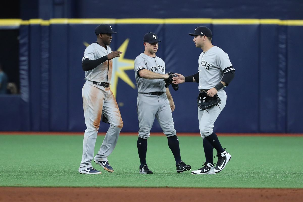 The Yankees' outfield defense has been quietly solid