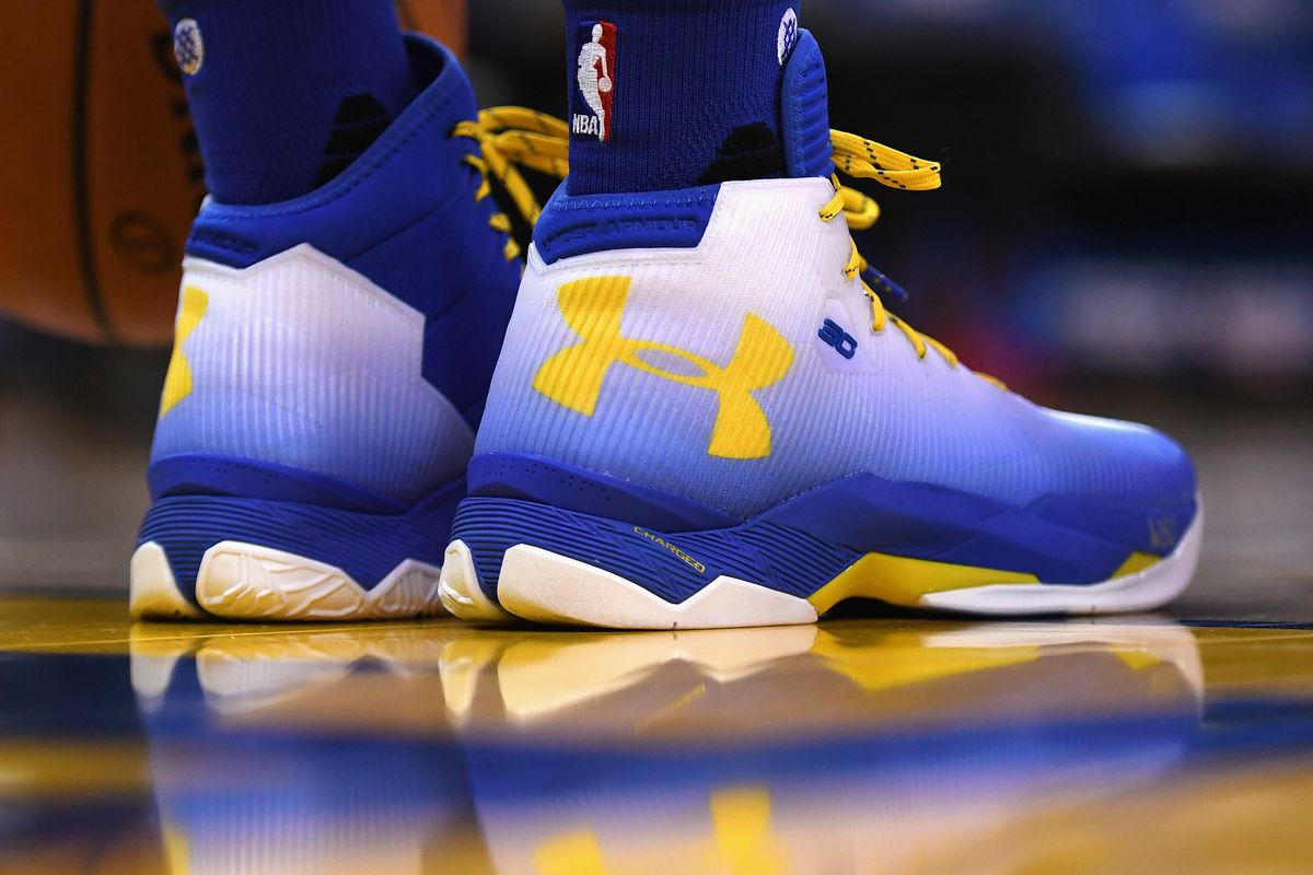 6c230b16aa9 NBA will remove color restrictions for sneakers this year - Golden ...