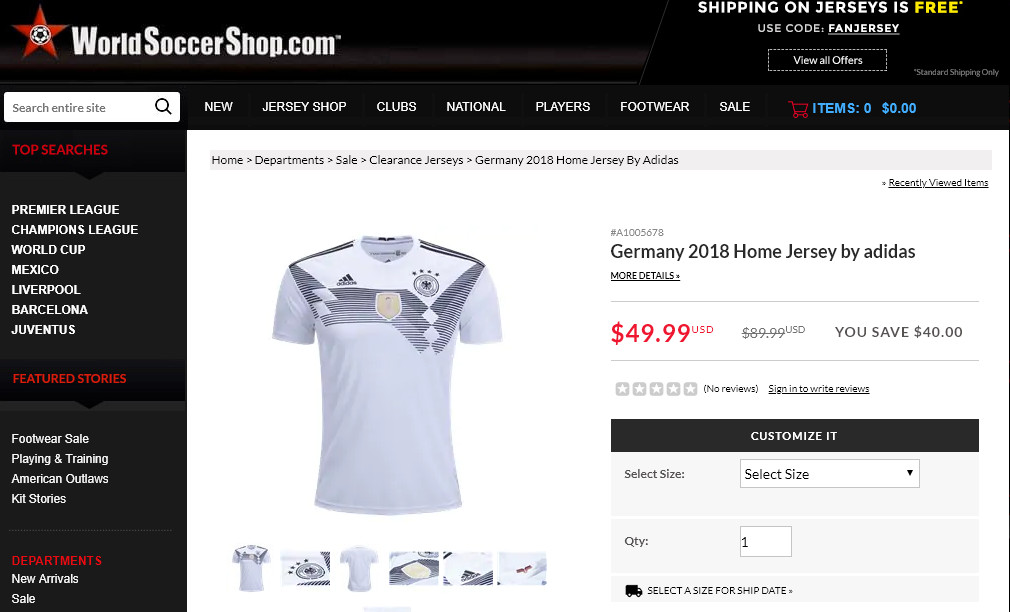 c92365b6 But champions patches are available for men's jerseys, as you can see with  this Germany 2018 jersey. World Cup ...