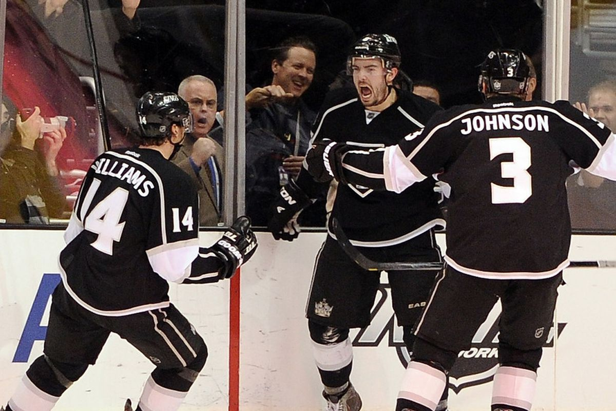 Last time these two teams played in LA, Drew Doughty beat the clock. What happens now?