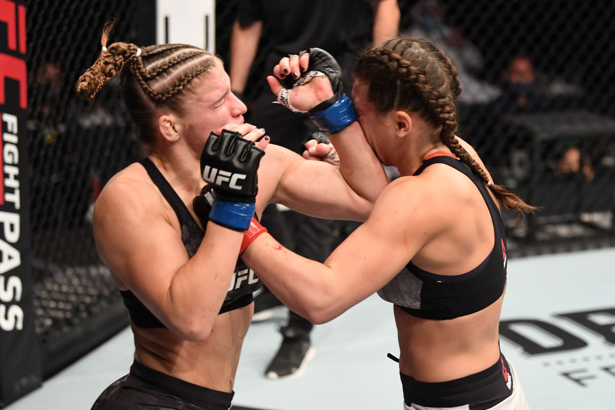 UFC 258 Miranda Maverick