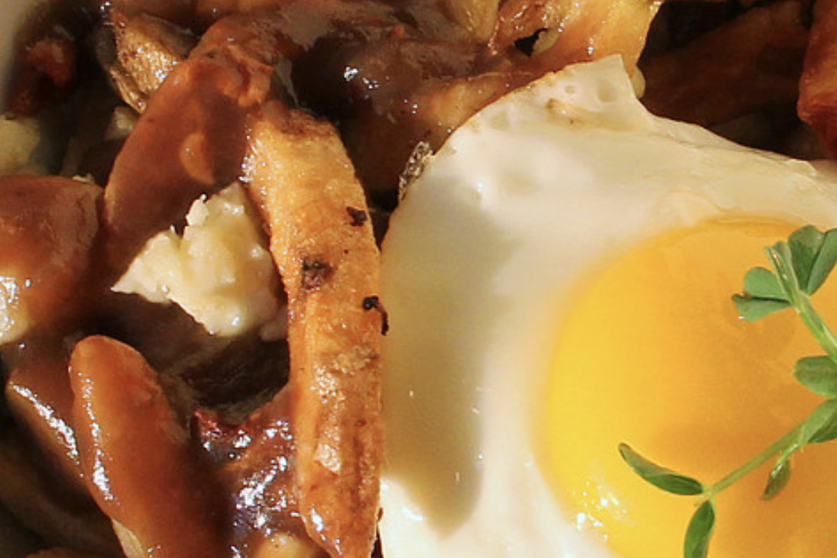 An egg and poutine