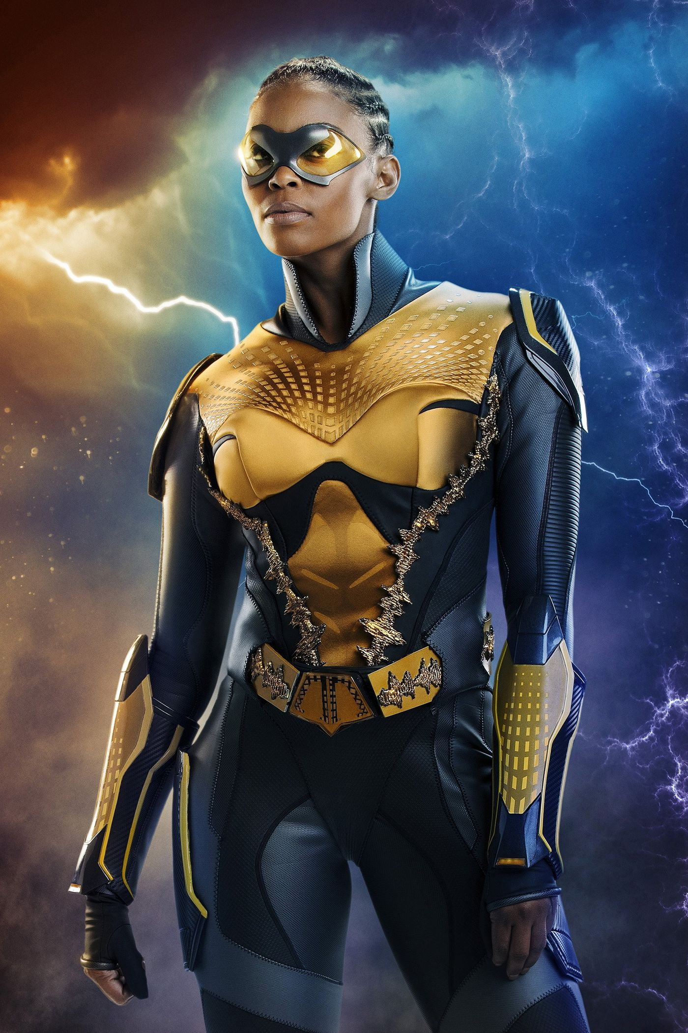 Black Lightning's Nafessa Williams on leaving a hated day job to go
