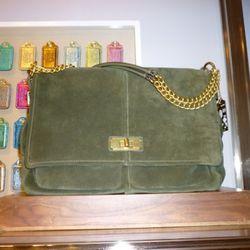 Chelsea Turnlock Messenger Bag,  $498
