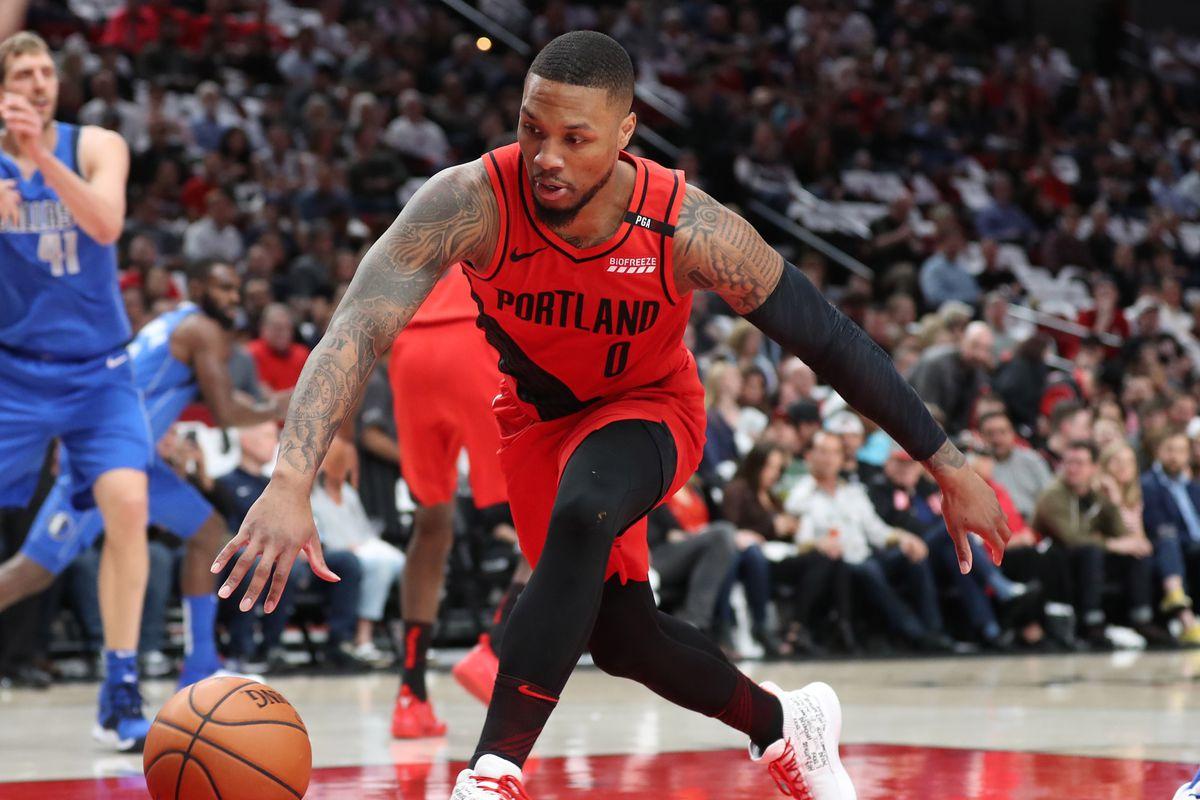 NBA: Dallas Mavericks at Portland Trail Blazers
