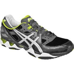 """Sport: Cross Training. <strong>Asics Gel</strong> Intensity 2 Men's Shoes in Gunmetal/Silver,  <a href=""""http://www.paragonsports.com/shop/en/Paragon/footwear/cross-training-5003507--1/asics-gel-intensity-shoe-mens"""">$109.95</a> at Paragon Sports"""