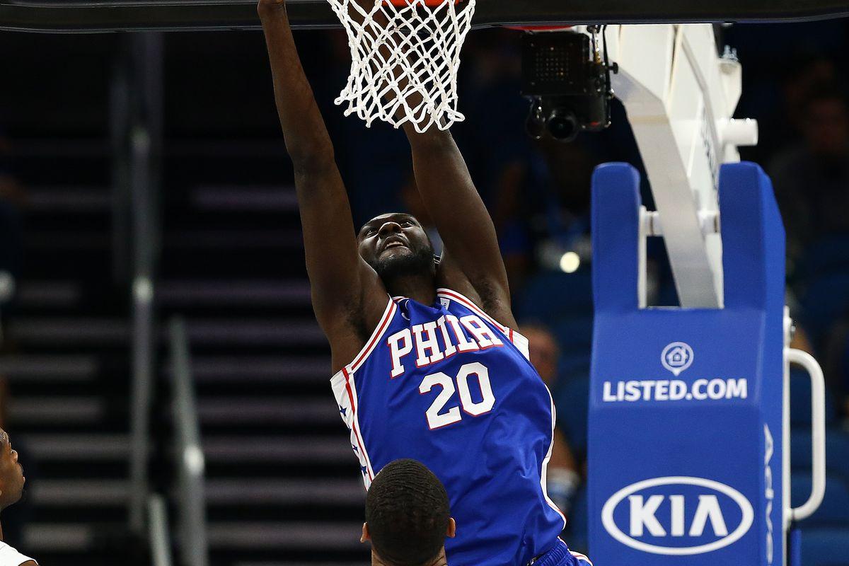 NBA: Preseason-Philadelphia 76ers at Orlando Magic