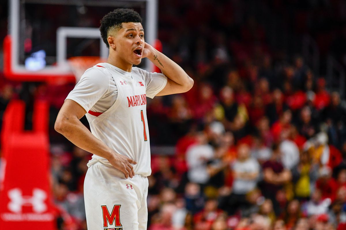 Anthony Cowan Jr, Notre Dame, Maryland basketball 2019-20