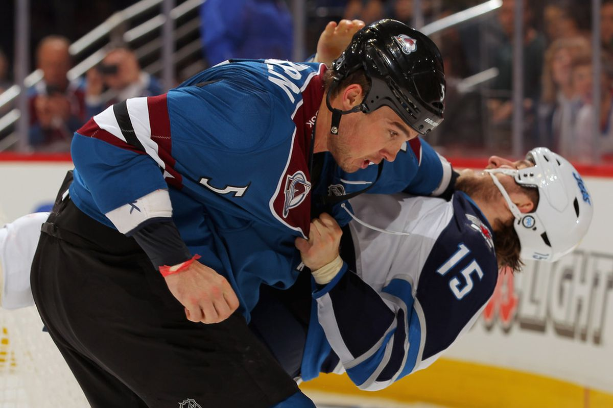 We about to do this to the NHL in 2012.  (Photo by Doug Pensinger/Getty Images)