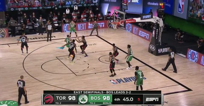 Did Nick Nurse trick Jayson Tatum into a costly turnover in Celtics-Raptors Game 6? thumbnail