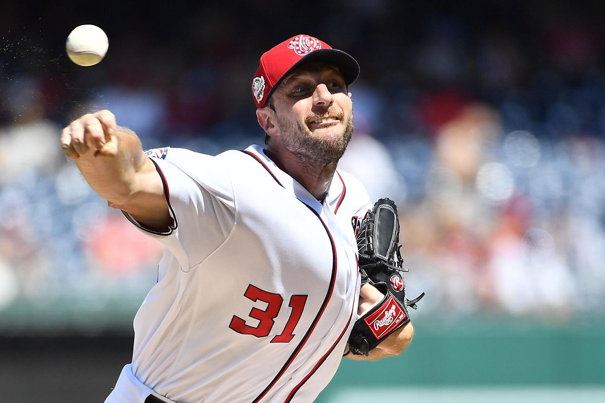 a35830420 Wire Taps  Washington Nationals Season previews  Nats have to start strong   Max Scherzer wants to improve with age.