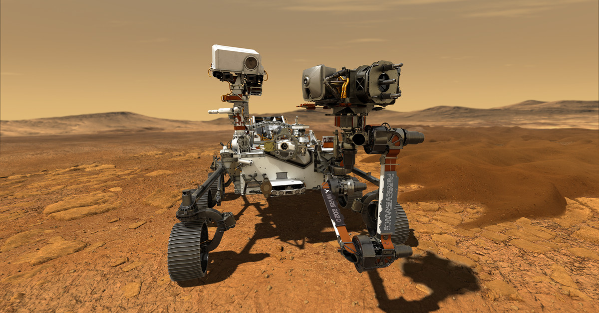 www.vox.com: NASA's new Mars rover is equipped with the first aircraft to fly on another planet