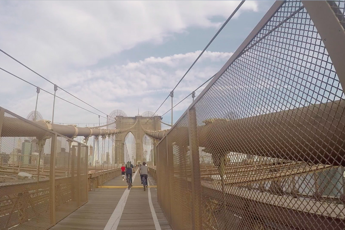 Biking The Brooklyn Bridge Why It S So Difficult Curbed Ny