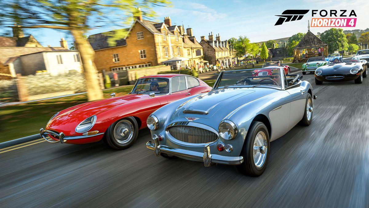 Forza Horizon 4 - classic British cars