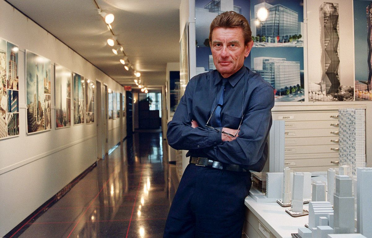 Architect Helmut Jahn in 2000.