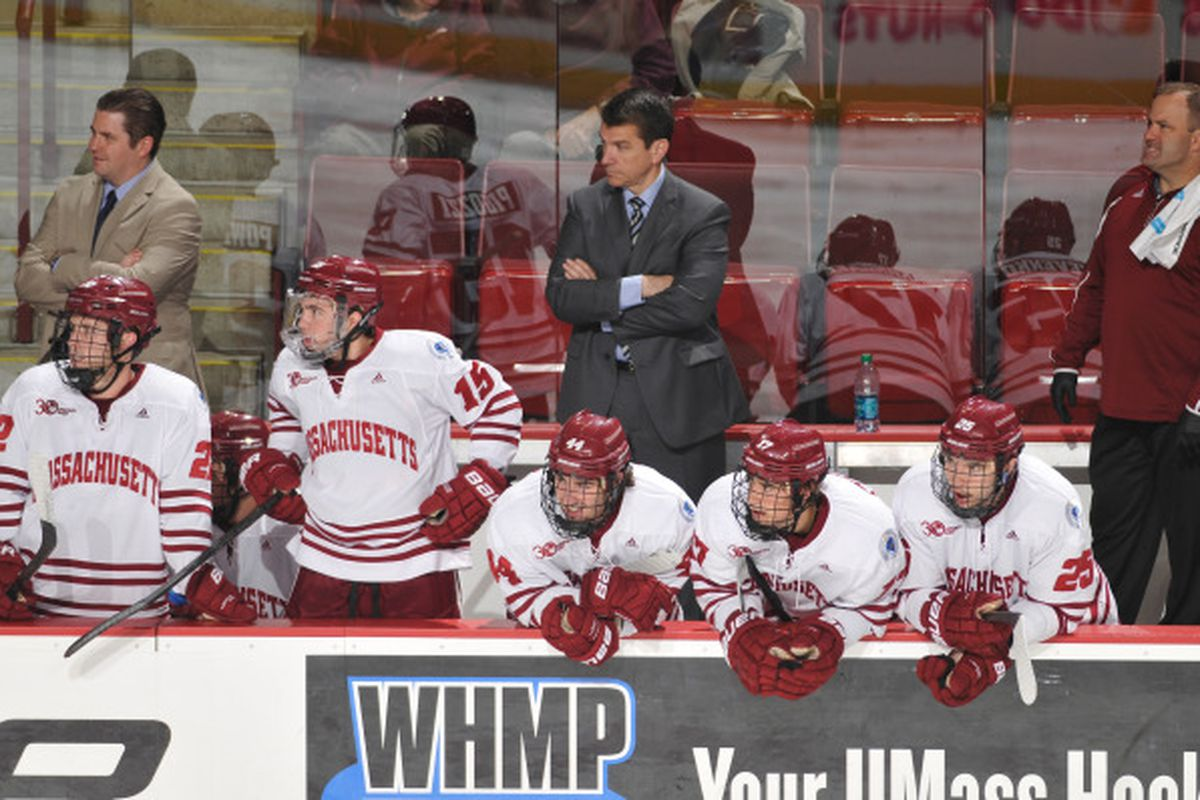 UMass might be in trouble unless they can turn things around, and get some help from above.