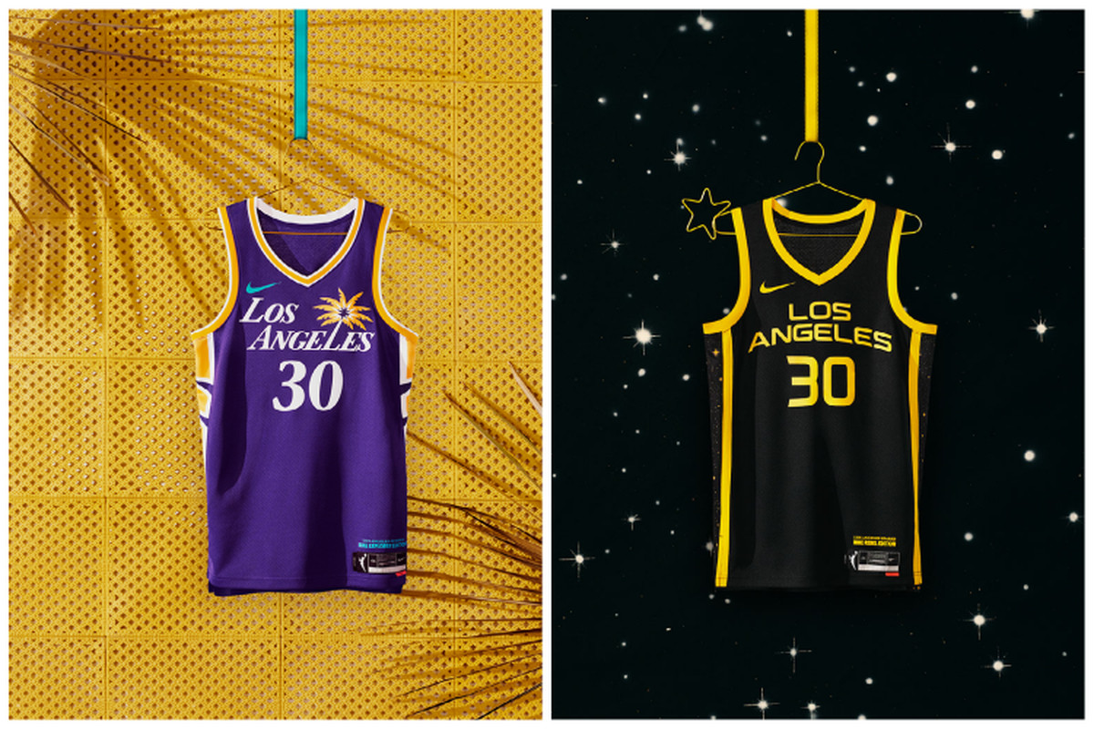 The new Sparks jerseys perfectly reflect Los Angeles - Silver ...