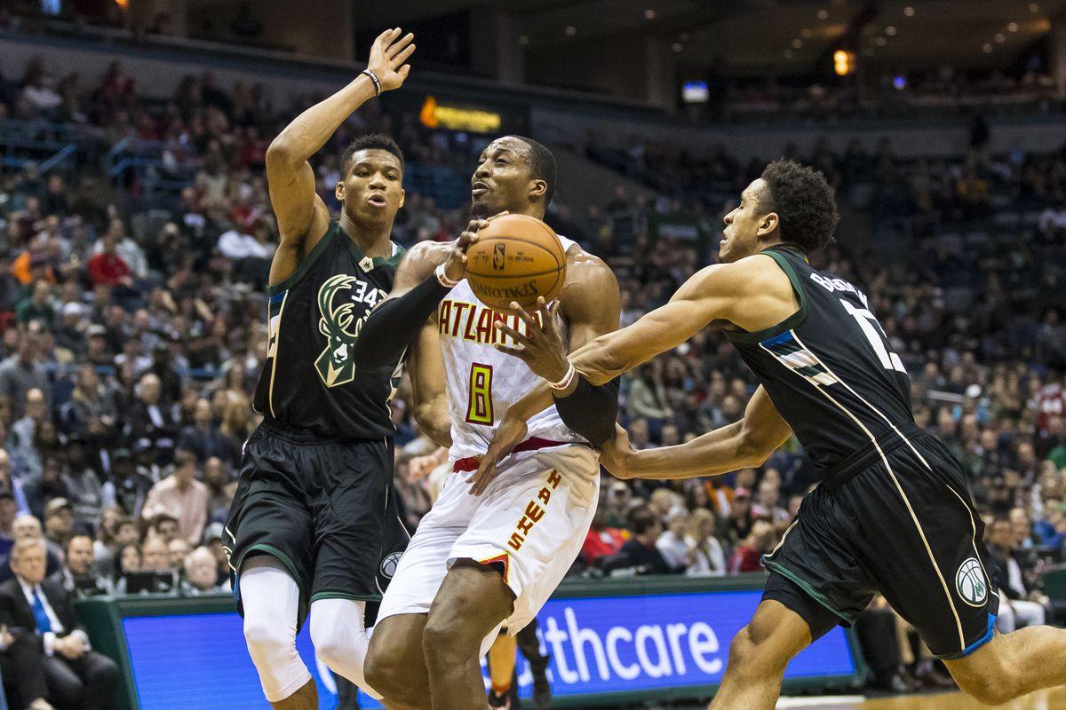 NBA: Atlanta Hawks at Milwaukee Bucks