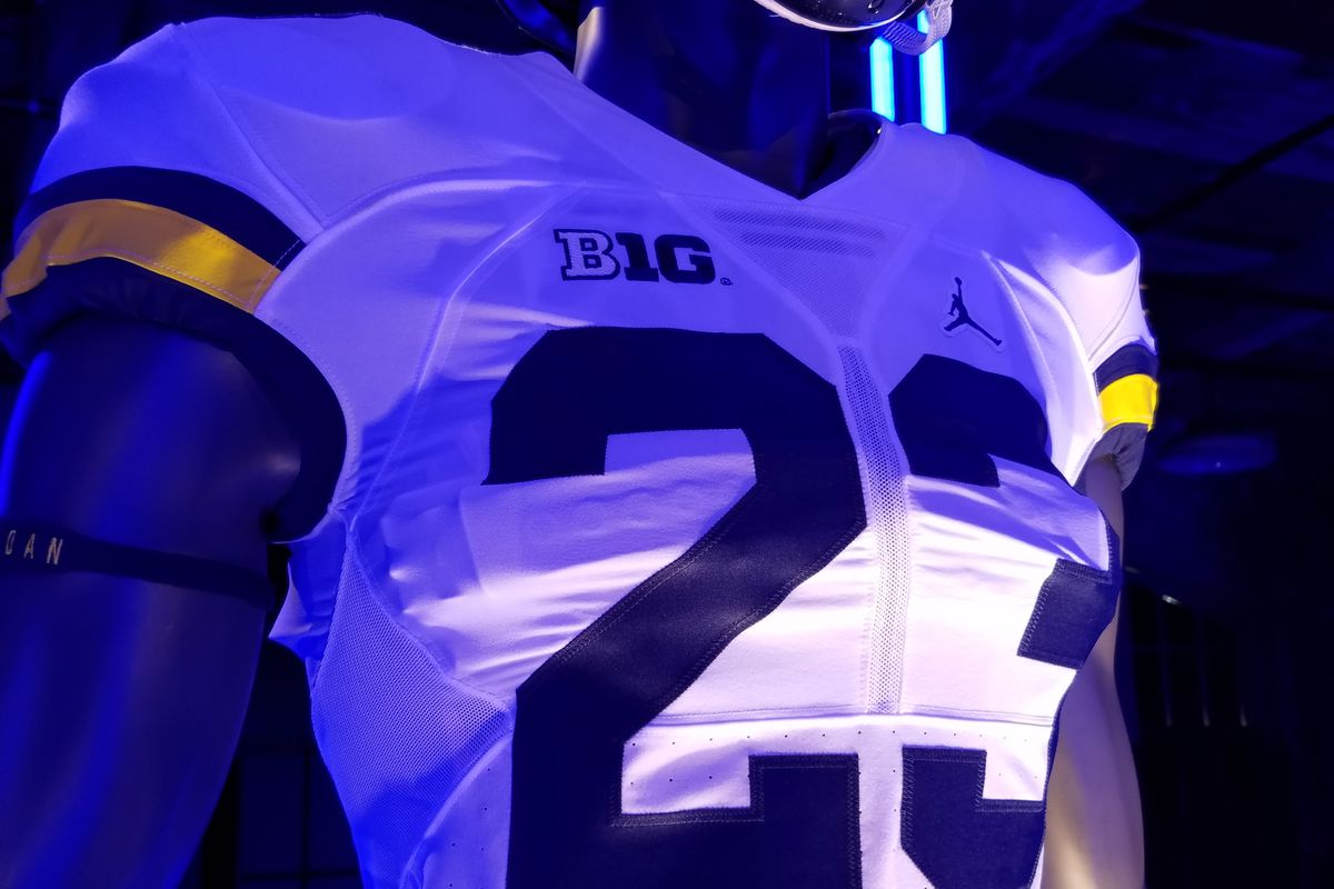 ffd4fdfdc Last August the buzz around Michigan s program was electric as the program  was on the cusp of becoming the first college football team to wear Jordan  brand ...