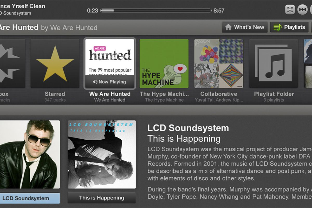 spotify for boxee box